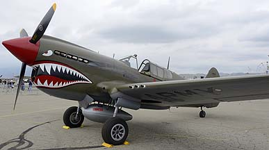 Curtiss Warhawk Mk. 1 N940AK, May 14, 2011